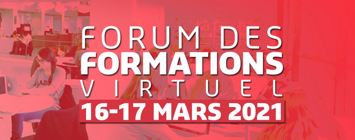 Forum des formations 2021 de l'université Paris 2