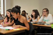 Étudiants en cours, 2011